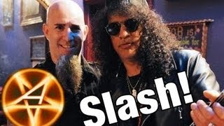 Anthrax Playing TNT with Slash!