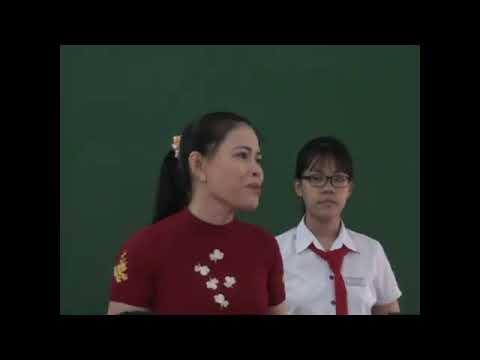 Trích phỏng vấn về công tác chủ nhiệm của giáo viên tham gia hội thi GVCN Giỏi cấp TP tại trường THCS Trần Hưng Đạo (nguồn: trích từ đài truyền hình Tỉnh Kon Tum)