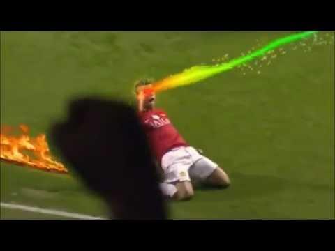 Clip 'chế' cách ăn mừng bàn thắng của siêu sao bóng đá cực vui ^^~~
