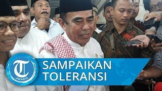 Menteri Agama Fachrul Razi Khotbah Jumat tentang Toleransi di Masjid Istiqlal