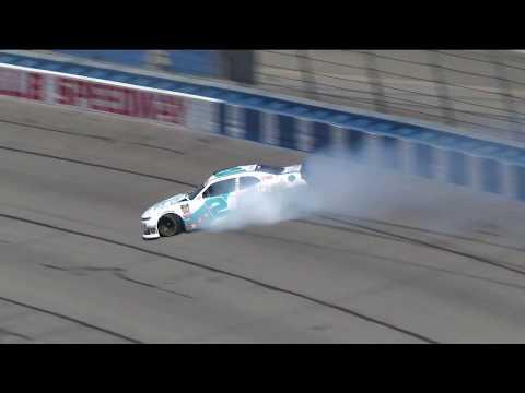 Tyler Reddick spins in Xfinity Series Practice