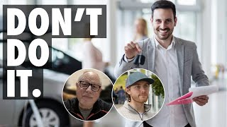 43 Year Veteran Car Salesman Explains Why You Shouldn't Get a Job in The Car Industry