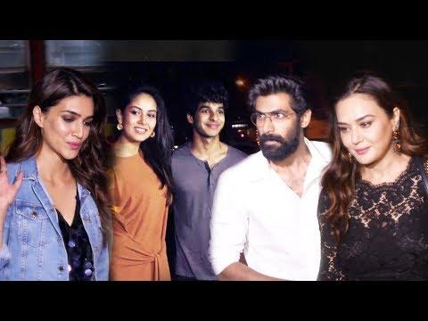 Rana Daggubati, Preity Zinta, Kriti Sanon, Mira, Ishaan At Soho Club Launch