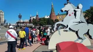 Прогулки по Москве. Москва Футбольная. Без комментариев. Moscow football world Cup.No comments.
