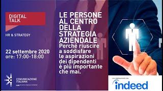 Youtube: Le Persone al Centro della Strategia Aziendale | Digital Talk | Indeed