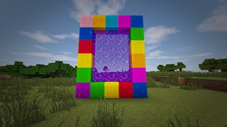 Gambar cover Minecraft - How to make a Portal to CANDY LAND!! (No mods)