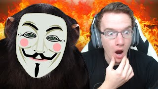 I'M GETTING HACKED! - Chimbot (Eviebot/Cleverbot)