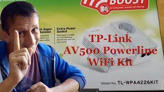 AV 500 Powerline WiFi Kit von TP-Link - Internet aus der Steckdose