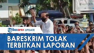 Jokowi Dilaporkan soal Kasus Kerumunan, Tim Pelapor Kecewa karena Bareskrim Tolak Terbitkan Laporan