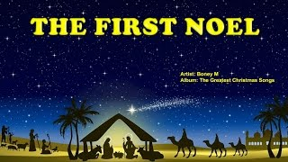 The First Noel -  Boney M (with Lyrics)