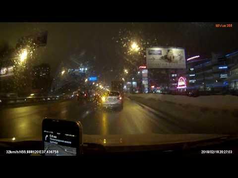 Пьяный за рулем на Ленинградское шоссе