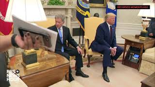 WATCH LIVE: Trump holds bilateral meeting with Finland's president