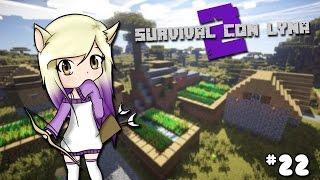 EXPLORAMOS TRES ALDEAS!   Survival con Lyna 2   Episodio 22