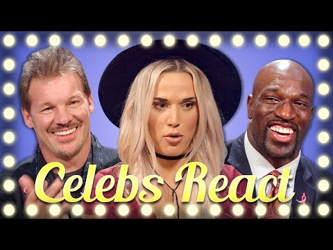 WWE SUPERSTARS REACT TO TRY NOT TO FLINCH CHALLENGE