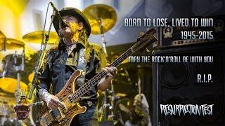 Motörhead - Live at Resurrection Fest 2015 (Viveiro, Last show ever in Spain) [Full show]