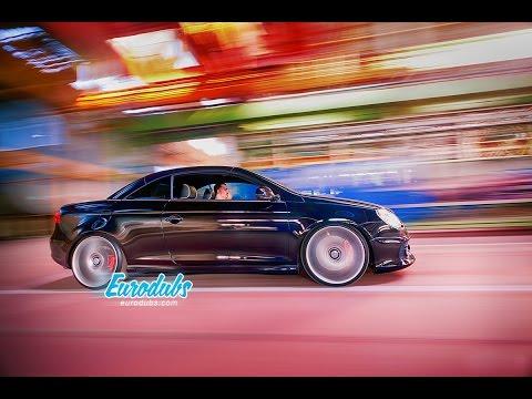 VW EOS on Audi S8 wheels, KW coilovers - Eurodubs.com