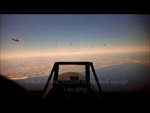 Jak se proletět Messerschmittem pár metrů od Vltavy. Video: Flying Revue