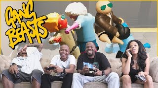 Unexpected Events Lead To HILARIOUS Knockouts! - Gang Beasts Gameplay