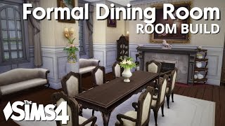 The Sims 4 Room Build - Formal Dining Room