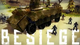 [Besiege]APC - Armoured Personnel Carrier