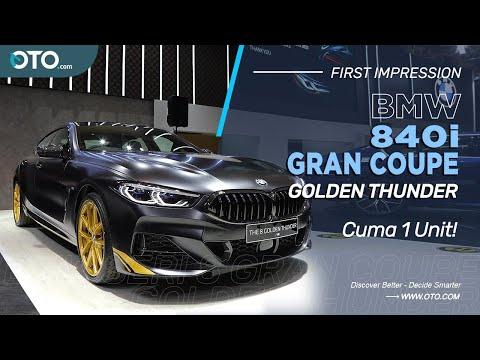 BMW 840i Gran Coupe Golden Thunder | Ganteng Maksimal! | IIMS 2021