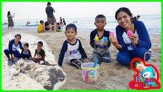 น้องบีม   เล่นน้ำทะเลหาไข่เซอร์ไพรส์ เที่ยวเพชรบุรี ชะอำ EP2