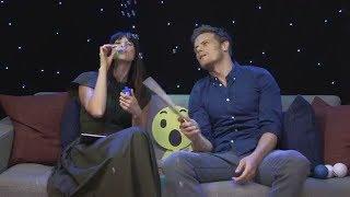 Outlander | Interviews ~ Sam Heughan & Caitriona Balfe Facebook Live Q&A