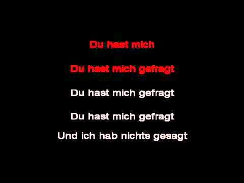 Rammstein - Du Hast (Karaoke)