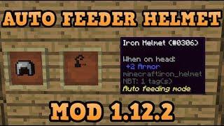 Auto Feeder Helmet Mod Para Minecraft 1 12 2   ZonaCraft