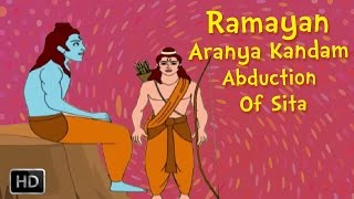 Ramayana Full Movie - Aranya Kandam (Part -2) - The Abduction Of Sita - Animated Stories for Kids