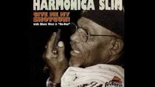 Harmonica Slim ( Riley Riggins )  ~  '' Woman 'Round My Door'' 1997