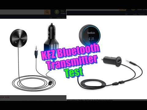 Bluetooth Transmitter  | TEST  | Belkin AirCast vs. Aukey Bluetooth
