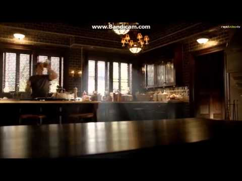 Damon dancing in a sexy way while cooking the pancakes! [6x02]