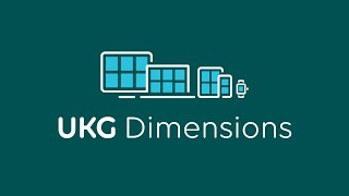 UKG Dimensions video