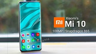 Xiaomi's Mi 10 - 5g   108 Mp Under Display Camera     Release Date Price & Specifications🔥🔥