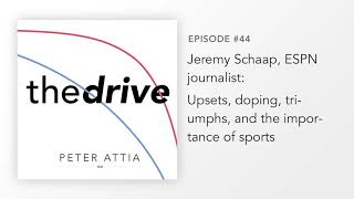 #44 – Jeremy Schaap, ESPN Journalist: Upsets, Doping, Triumphs, And The Importance Of Sports