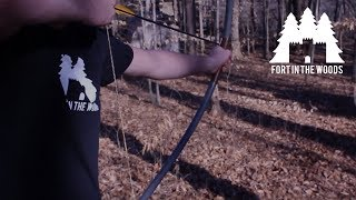 How to make a bow from a PVC pipe