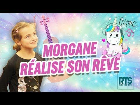 RTS réalise le rêve de Morgane 9 ans