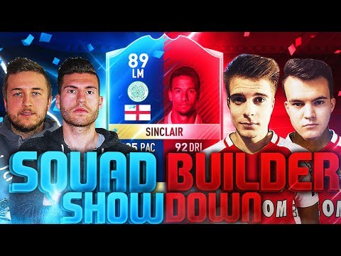 FIFA 17: 2 vs 2 TOTS SINCLAIR SQUAD BUILDER SHOWDOWN 🔥😱  DIE REVANCHE !!