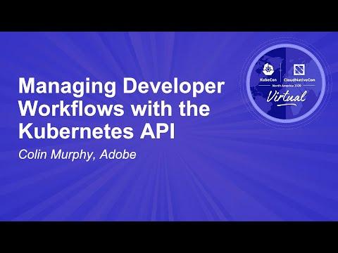Image thumbnail for talk Managing Developer Workflows with the Kubernetes API