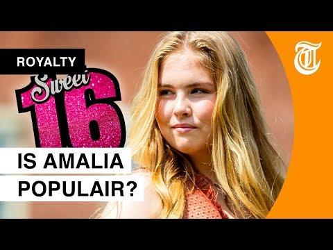 Sweet 16 voor prinses Amalia