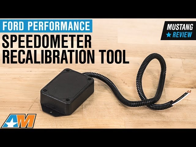 Ford Performance Speedometer Recalibration Tool (94-10 All)