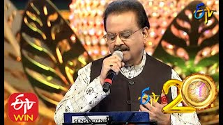 SP Balu Performs - Materani Chinnadani Song In ETV @ 20 Years Celebrations - 23rd August 2015