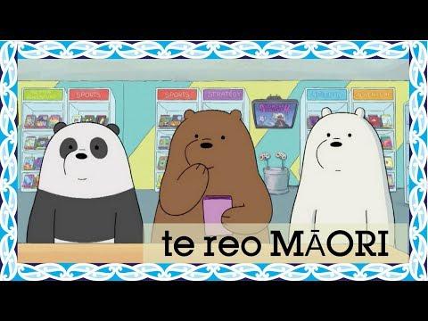 We Bare Bears | Bear Stack (Māori) | Cartoon Network