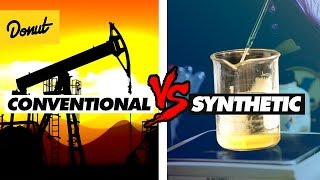 CONVENTIONAL VS SYNTHETIC MOTOR OIL - How it Works | SCIENCE GARAGE