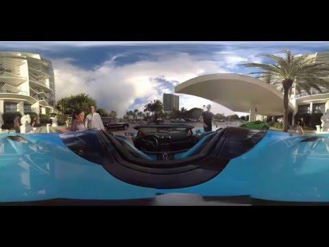 360° Lamborghini Huracán Spyder – South Beach Miami