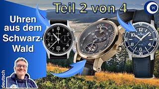17 Schwarzwald Uhrenmarken (2/4)| vielfältig, kunstfertig, unerwartet