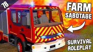 FARM SABOTAGE POLICE INVOLVED  - Survival Roleplay | Episode 78