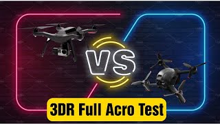 3DR Solo Acro Test As Smooth as DJI FPV Drone? TEST 1