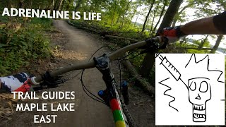 Maple Lake East Trail- A first intro to the Palos System for many.